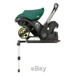 Doona Infant Car Seat and Stroller with Isofix base Black