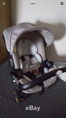 Doona car seat stroller with accessories