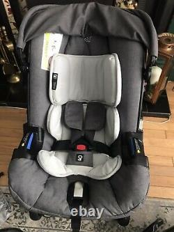 Doona car seat stroller with isofix Base, Rain Cover And Seat Protector