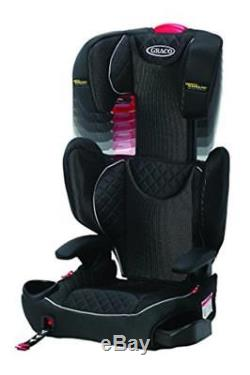 Graco Affix Car Booster Seat Isofix Latch System High Back Group 2/3 (15-36 Kg)