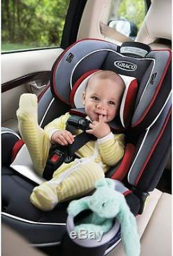 Graco Baby 4ever All In 1 Convertible Car Seat Infant Child Booster Cougar New