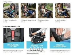 Graco Baby 4Ever DLX 4-in-1 Car Seat Infant Child Safety Park NEW