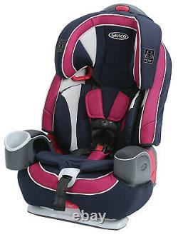 Graco Baby Nautilus 65 LX 3-in-1 Harness Booster Car Seat Child Safety Ayla