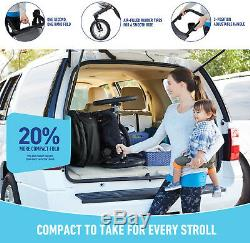 Graco Baby RoadMaster Jogger Travel System Stroller with Infant Car Seat Drift NEW