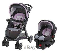 Graco Fast Action Click Connect Travel System Janey Stroller and Car Seat