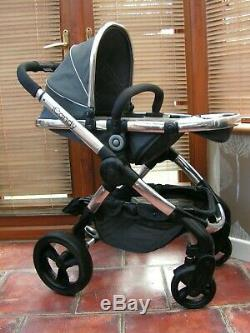 ICANDY PEACH 3 TRUFFLE travel system & pebble plus carseat lovely set MUST SEE