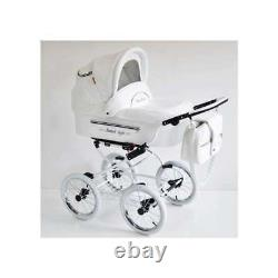 ISABELL Pram Baby Fashion 2in1,3in1 CARRYCOT + STROLLER + CAR SEAT + ISOFIX BASE