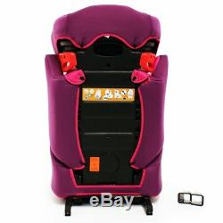 ISafe Booster Seat Isofix Group 2-3 Owl & Button 15-36kg