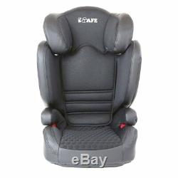 ISafe Carseat Kid/Toddler Fix ISOfix Group 2-3 Black From 15-36 kg