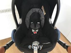 Icandy Peach 2016 ROYAL With Carrycot, Maxi Cosi Car Seat