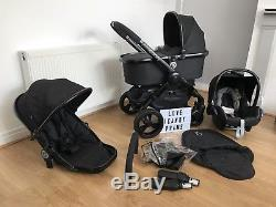Icandy Peach 3 Jet With Carrycot & Maxi Cosi Car Seat