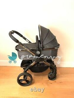 Icandy Peach 4 Unisex Moonlight With Carrycot Car seat Bargain Price