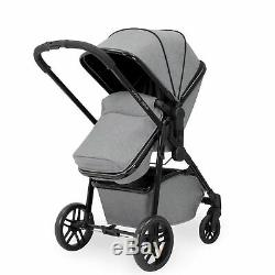 Ickle Bubba Moon 3-in-1 Travel System + Carrycot+Pram Buggy+Stroller+car seat