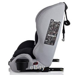Infababy Safe-Plus Isofix car seat Group 123 Silver Storm