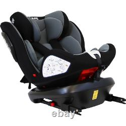 Infant All Stages 360° Rear Safety Rotating Baby Car Seat Group 0+ 1 2 3 Carseat