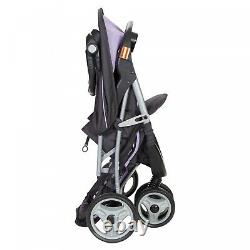 Infant Car Seat Stroller Travel System With Playard Baby Jogger EZ Ride Purple