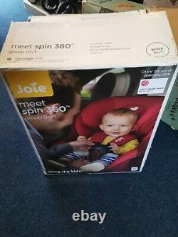 Joie Baby Spin 360 Group 0+/1 Car Seat Ember next day delivery