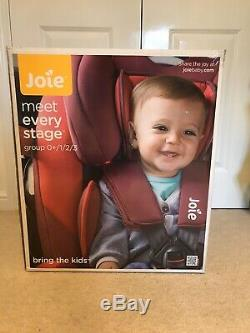 Joie Every Stage Reclining Group 0+/1/2/3 Car Seat. Dark Pewter