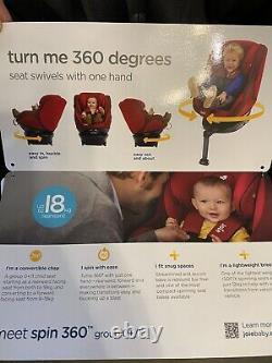 Joie spin 360 Group 0+/1 Baby Car Seat Black. Condition USED But Excellent