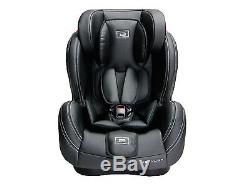 Luxury Leather Stages Caviar Black Group 1 2 3 Car Seat From Birth Baby Carseat