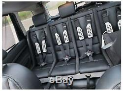 Multimac 1260 4 Seater Car Seat with 2x Headrests