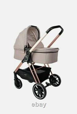 My Babiie MB250 Cristina Millan Pushchair, carry cot car seat travel system new
