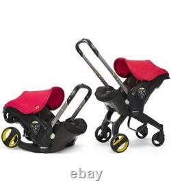 NEW RED Doona Infant Car Seat with Base