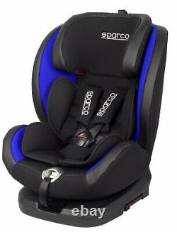 NEW! Sparco Child Seat SK600i BLUE ECE Safety Auto Car Baby Secure ISOFIX 0-36KG