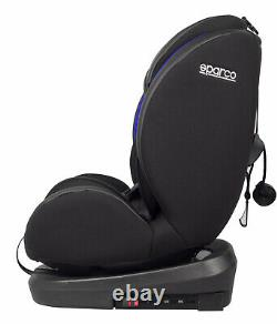 NEW! Sparco Child Seat SK600i GREY ECE Safety Auto Car Baby Secure ISOFIX 0-36KG