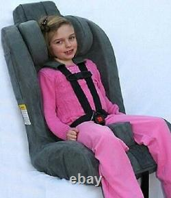 NEW The Roosevelt Child Standard Special Needs Car Seat with EZ Up Head Rest