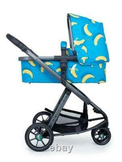 New Cosatto giggle 3 Travel system Bananas with Car Seat bag footmuff raincover