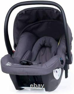 New Cosatto giggle 3 Travel system Charcoal Mister Fox with hold car seat & pvc
