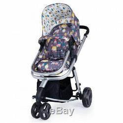 New Cosatto giggle mix pram and pushchair Hygge Houses with car seat & raincover