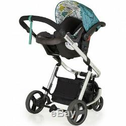 New Cosatto giggle mix pram and pushchair in Fjord with car seat and raincover
