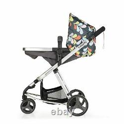 New Cosatto giggle mix pram and pushchair in Nordik with car seat and raincover