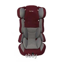 Parker Grey & Plum Purple Child Baby Car Seat Age 4-12 Safety Booster Group1/2/3