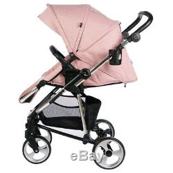 Roma Vita 2 Travel System Amy Childs Collection Pink Pram Including Car Seat