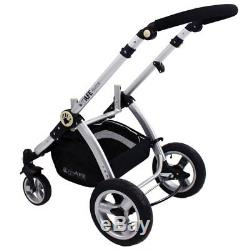 SALE! ISafe Baby Stroller Pram 3 in 1 C&M Design (Complete With Car Seat)