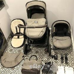 Silver Cross Expedition Pioneer Pram Pushchair Car Seat Travel System 3 In 1