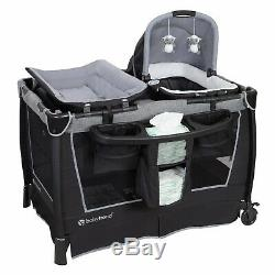 Stroller Car Seat Combo Baby Travel System Jogger with Infant Playard Baby Bag