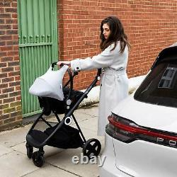 The Million Dreams 3 In 1 Travel System Pushchair Car Seat Changing Bag Grey