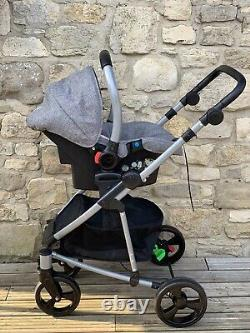 Toco Vamos Travel System (pramette) Inc Stroller, Carrycot And Car Seat