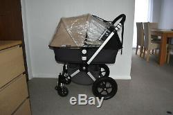 Travel System 3in1 Bugaboo Cameleon2 in Sand inc Maxi Cosi Pebble Car Seat
