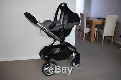 Travel System 3in1 iCandy Peach2 in Silver Mint inc Maxi Cosi Pebble Car Seat