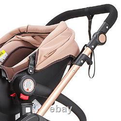 Travel System Foldable Car Seat Luxury Buggy 3 in 1 Baby Stroller Baby Carriage