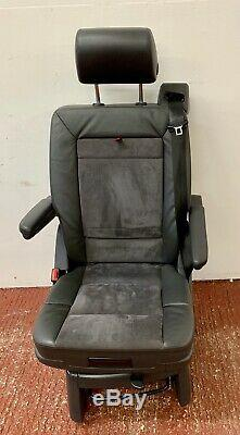 VW T5 T6 Caravelle Swivel Seat, Middle Row, Leather Alcantara Child Option